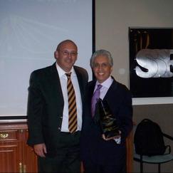Doctor Claudio Gálvez y Doctor Carlos Giménez