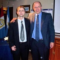 Doctor Gastón Saubidet y Doctor Alberto Marangoni