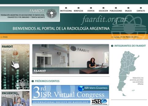 Nuevo sitio Web de FAARDIT