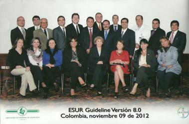 Fig. 1: Participantes de la 1ª Reunión LA sobre uso seguro de materiales de contraste