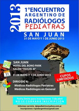 1er Encuentro de Radiólogos Pediatras
