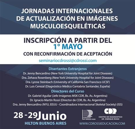 Jornadas Internacionales de Actualización en Imágenes Musculoesqueléticas