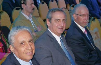 Dres. Carlos Giménez, Hugo Guerra y Javier Casillas