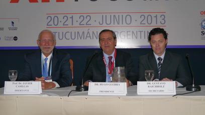 Disertante el Prof. Dr. Javier Casillas (USA). Presidió la sesión el Dr. Hugo Guerra actuando como secretario el Dr. Gustavo Raichholz