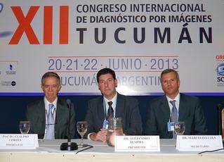 Prof. Dr. Claudio Cortés (Chile). El presidente de la sesión fue el Dr. Alejandro Tempra y el secretario el Dr. Marcelo Lujan.