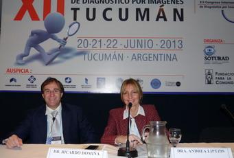 Dr. Ricardo Dómina (Mendoza). Fue presidente de la sesión la Dra. Andrea Liptzis.