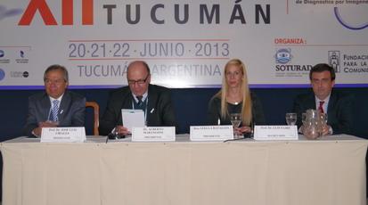 """la Sesión Plenaria  sobre """"Cáncer de Pulmón: de la Radiografía al PET-TC"""""""