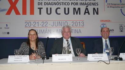 Dra. Gloria Soto Giordani. La sesión fue presidida por el Prof. Dr. Sergio Lucino, y como secretario actuó el Dr. Sergio Moguillansky.