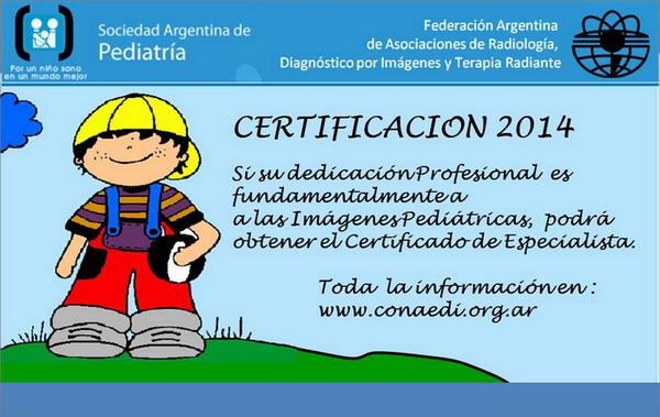Certificación Pediatría 2014