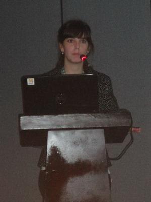 Dra. Ana Pelaez representante de Argentina en el Encuentro de Residentes