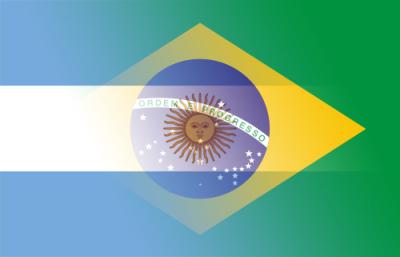 Bandera Argentina-Brasil
