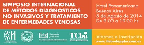 SIMPOSIO INTERNACIONAL DE MÉTODOS NO INVASIVOS Y TRATAMIENTO DE ENFERMEDADES VENOSAS