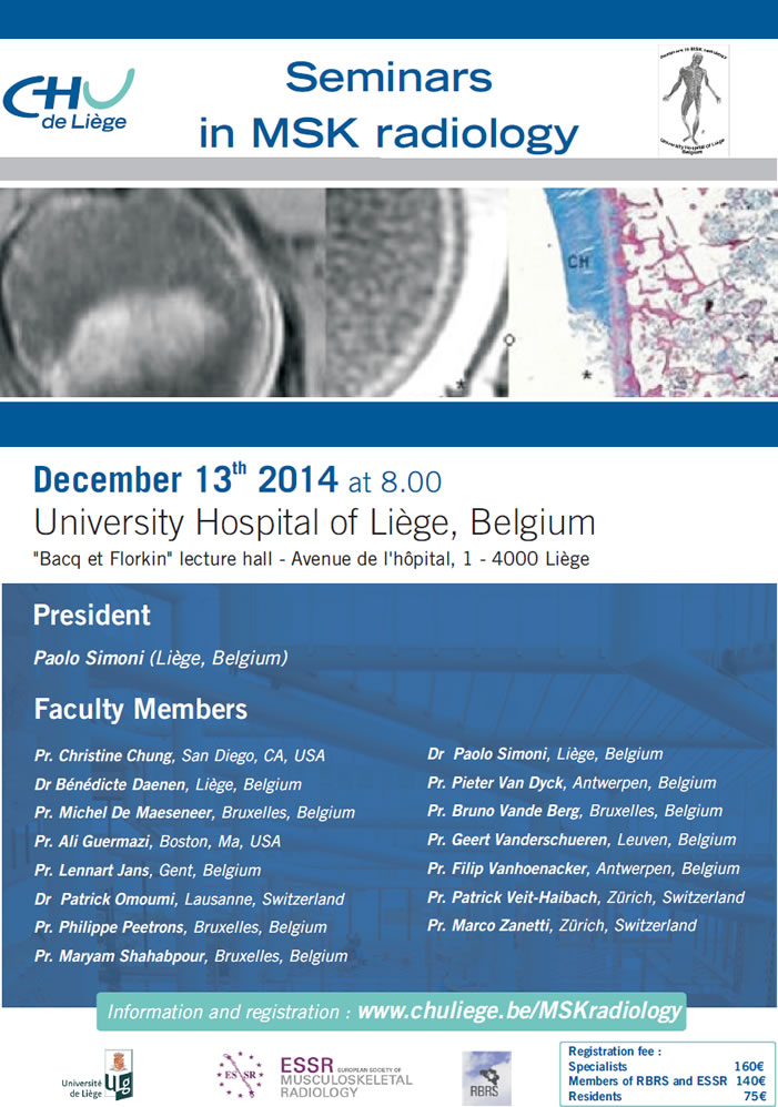 Seminars in MSK Radiology