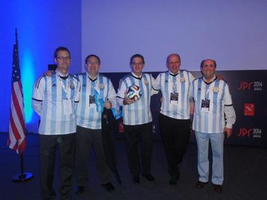 Copa Mundial JPR 2014. Equipo Argentino