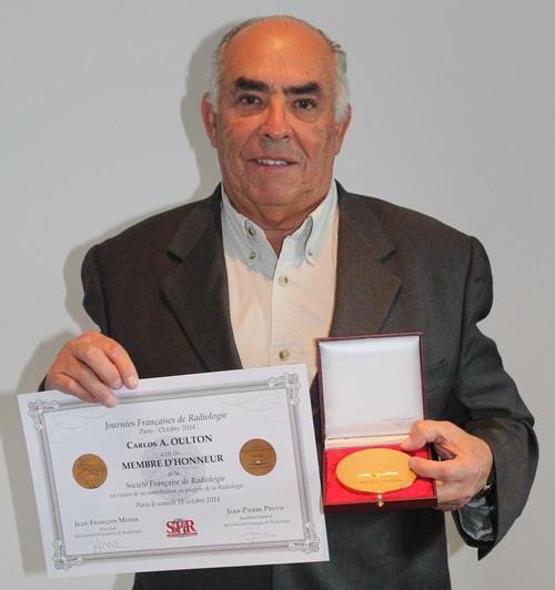 Dr. Carlos Oulton Miembro de Honor de la Radiología Francesa