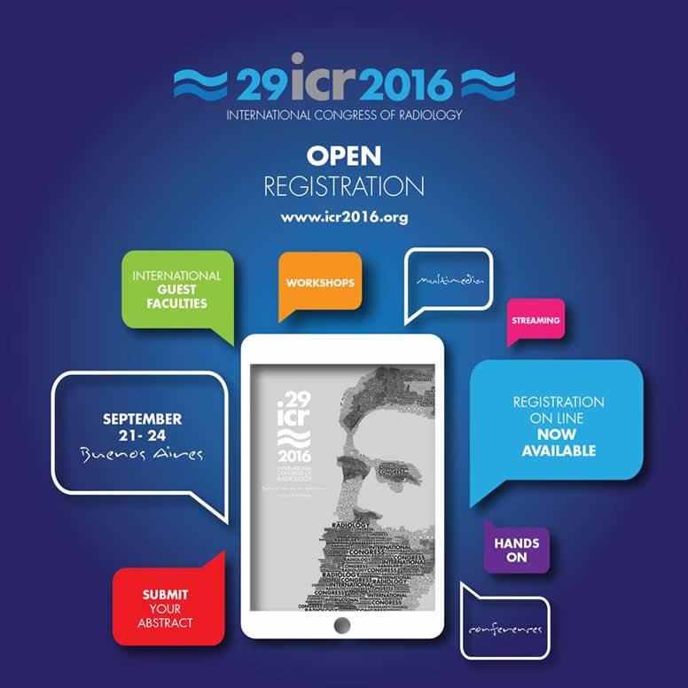 ICR 2016. Inscripciones abiertas