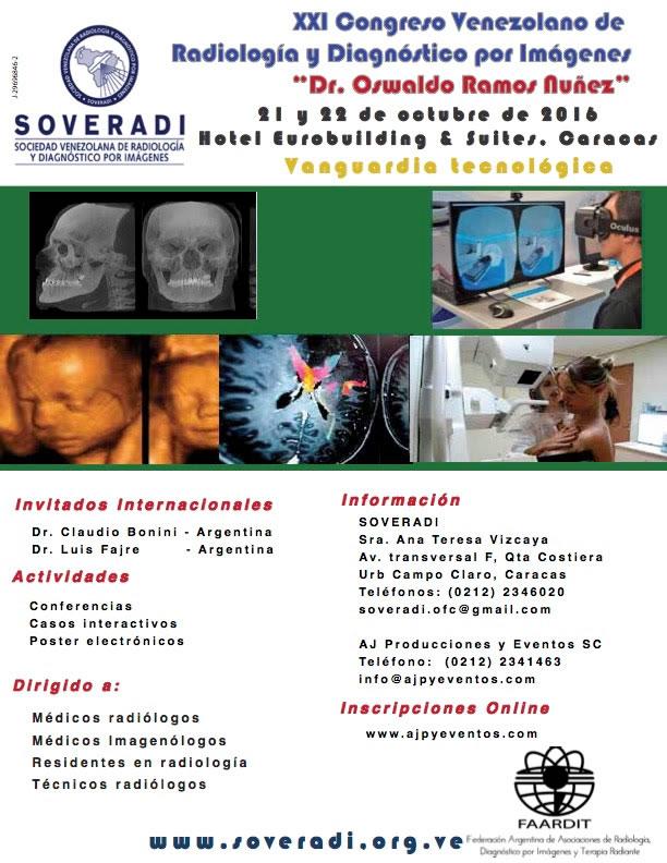 Congreso Venezolano de Radiología 2016