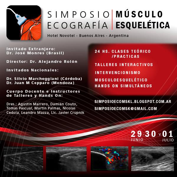 Simposio Ecografía Musculoesquelética