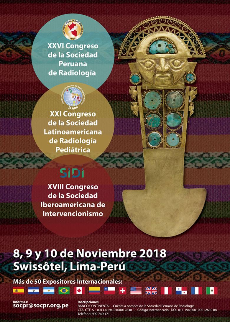 Congreso SOCPR, SIDI Y SLARP 2018