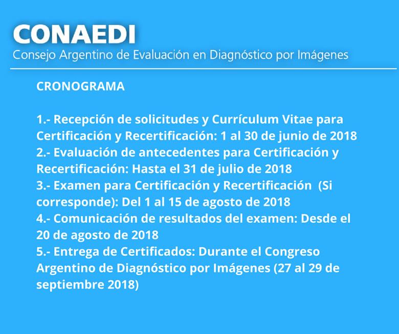 Cronograma CONAEDI 2018